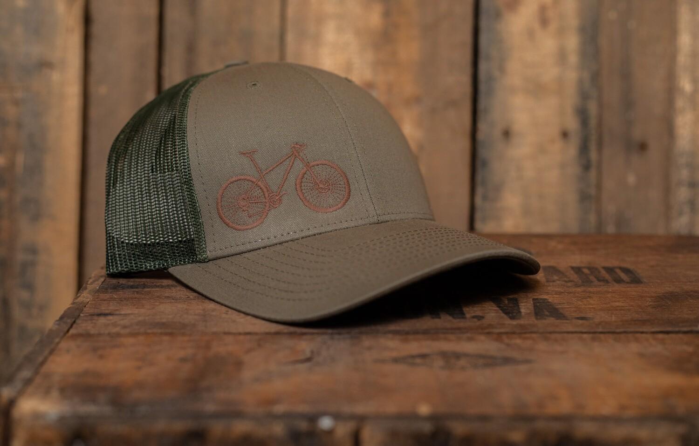 8H Brown Mtn. On  Olive Bike Vital