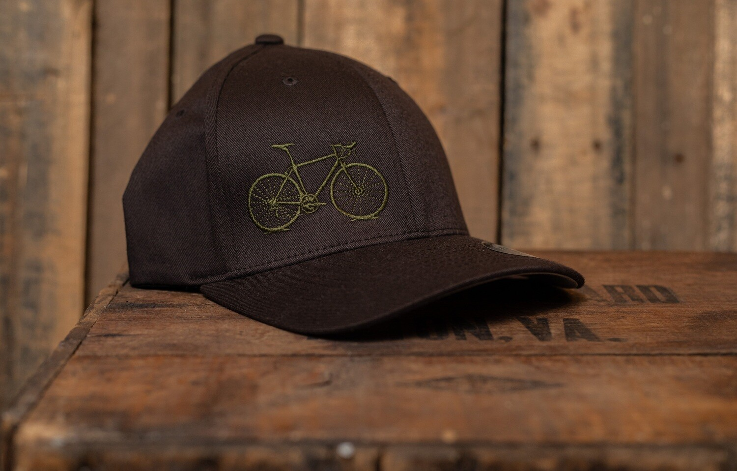 9D Fitted L/xl Olive Brown