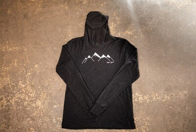 Snow-Capped Mountain Lightweight Hoodie