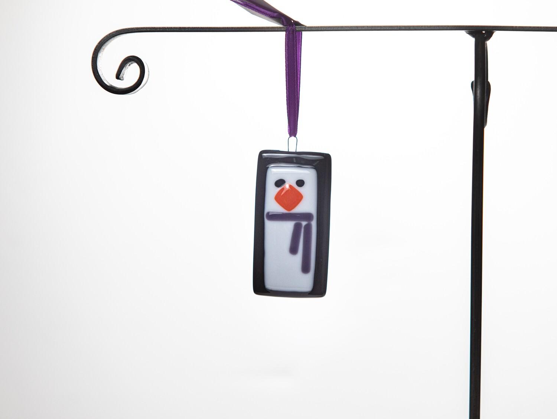 PTG2D Square Penguin Ornament