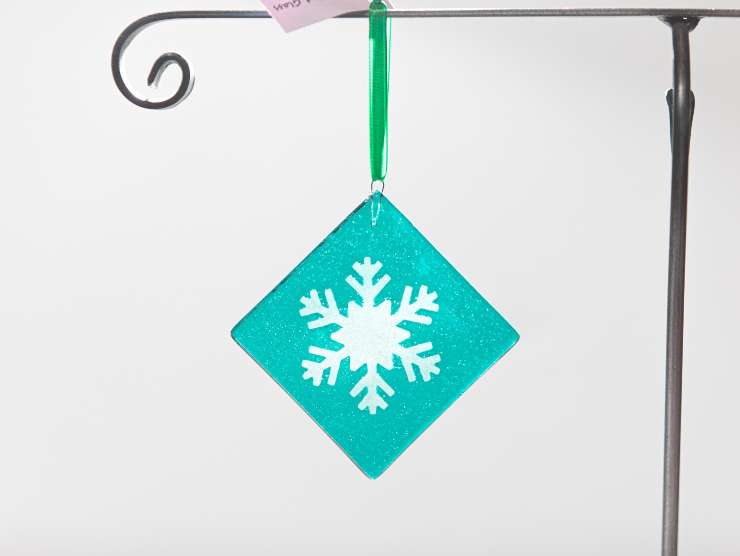 Snowflake Ornament- Teal Green