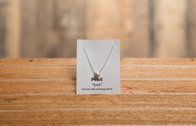 Pearl Sterling Siver