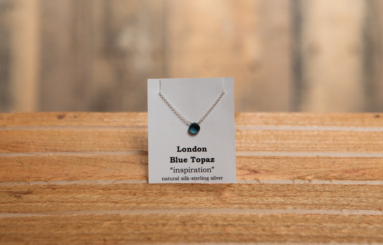 London Blue Sterling Silver