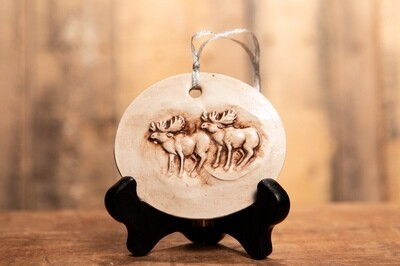BN239 Moose Ornament