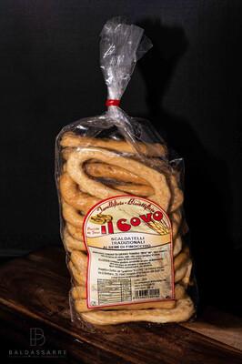 Scaldatelli (Taralli) A la pomme de terre.