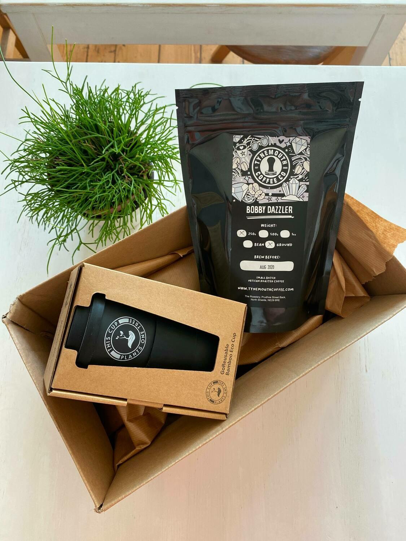 Reusable Cup & Coffee Set