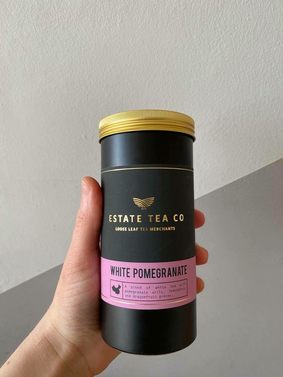Estate Tea Co. White Pomegranate Loose Leaf