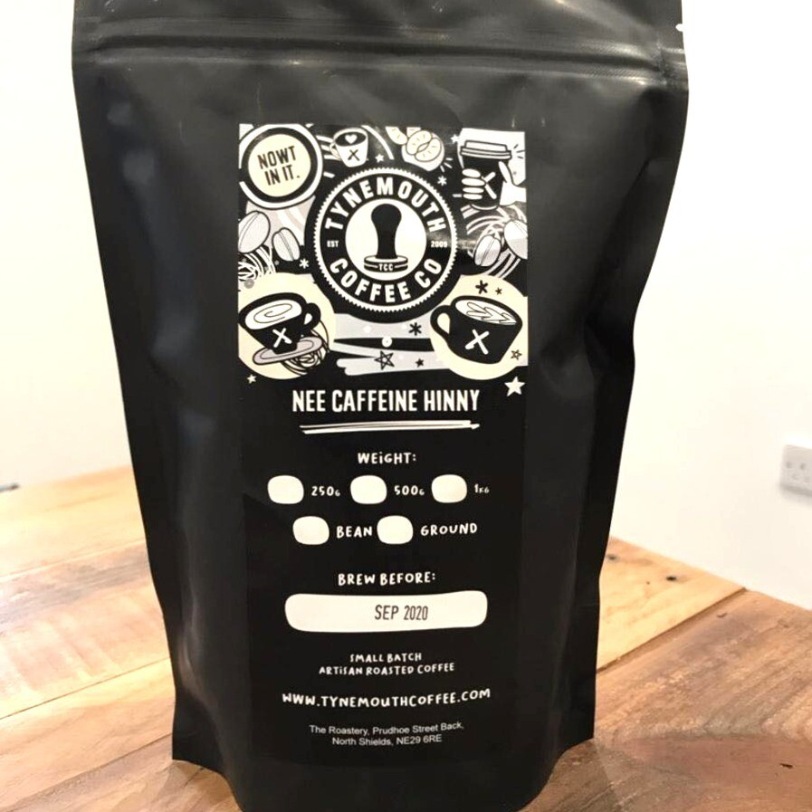 Nee Caffeine Hinny, Decaf Ground Coffee