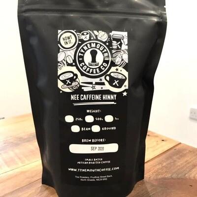 Nee Caffeine Hinny, Decaf Ground Coffee
