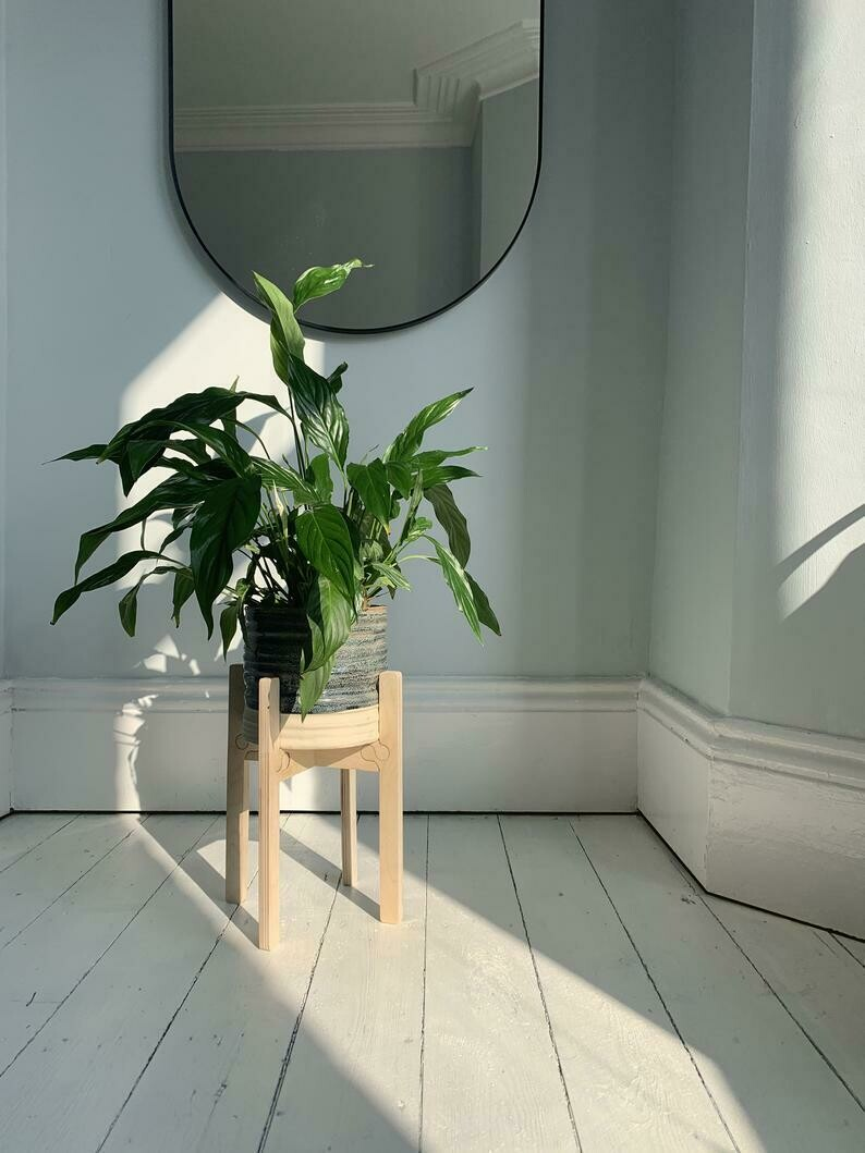 Frø Large/ Tall Plant Pot Stand  by Pretty Ply