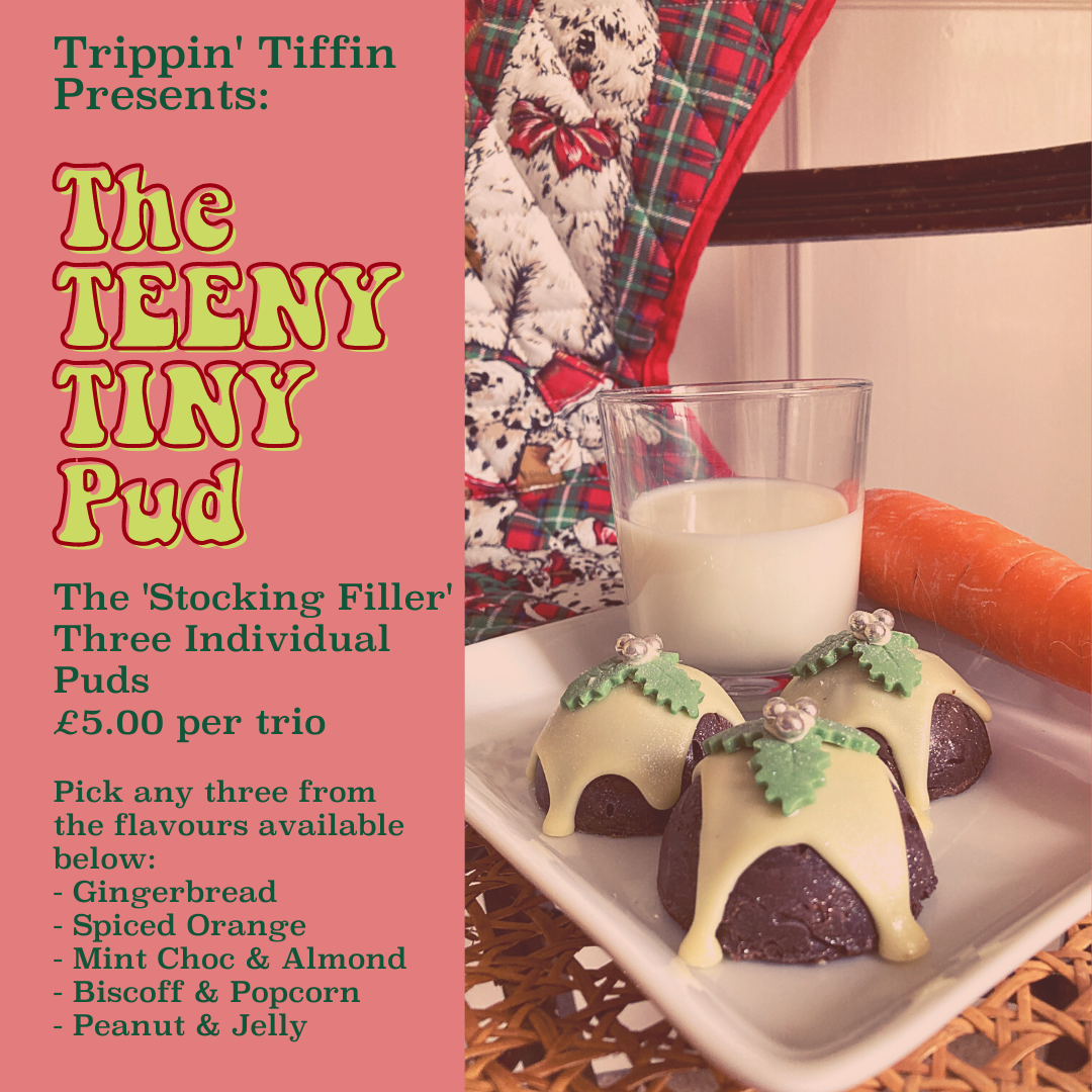 Stocking Filler - 3 individual puds by Trippin' Tiffin