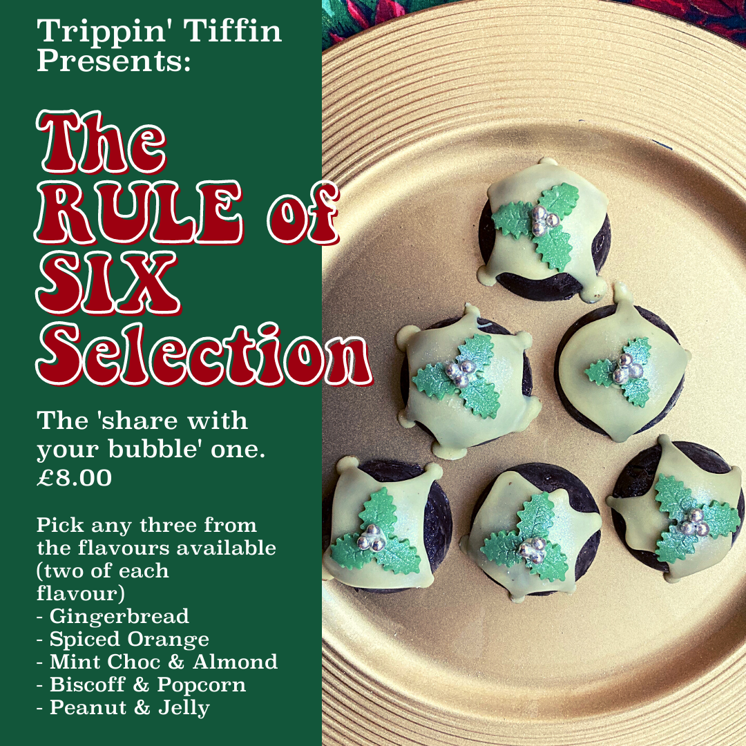 Rule of 6 - 6 individual puds by Trippin' Tiffin