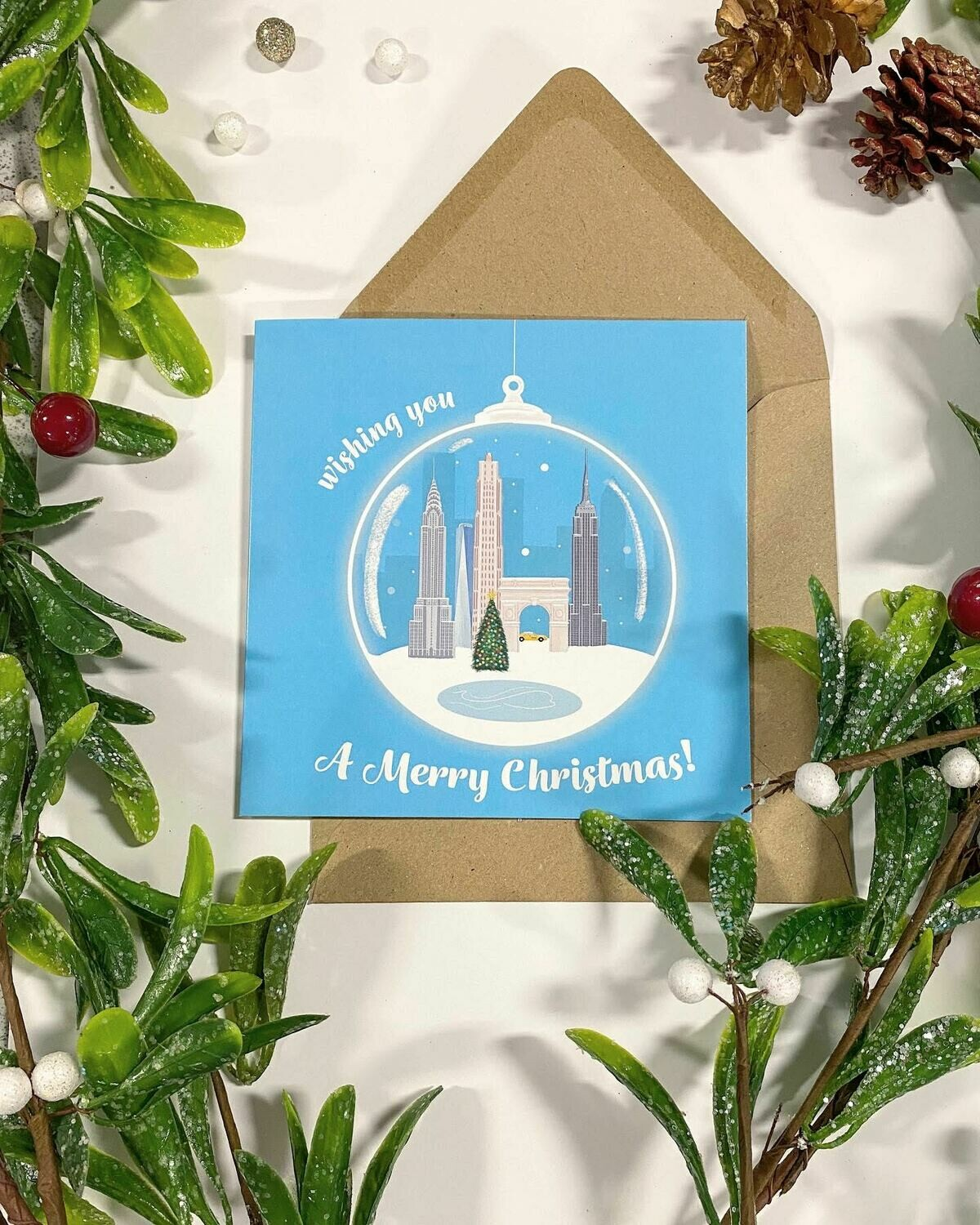 Pack of 4 'Canny Christmas Cards' by Katie Gallagher (kgalldesigns)