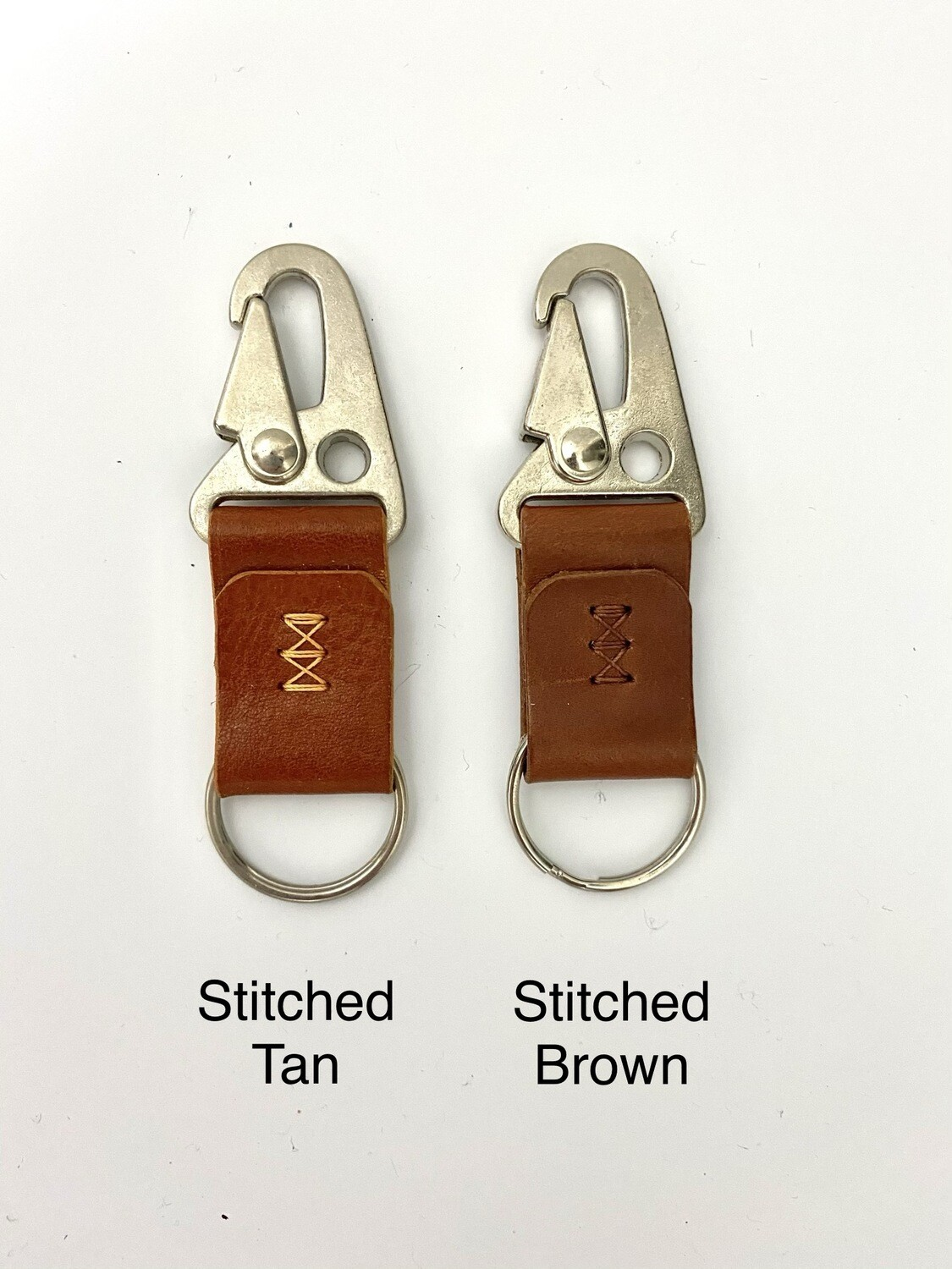 Leather Key Chain Stitched by ModestGoods
