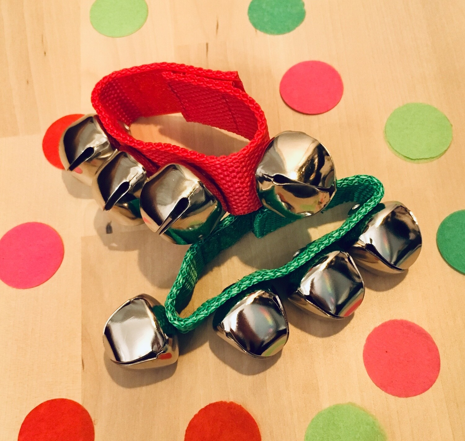 Little and Loud Red & Green Handbells by Little and Loud