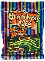 GUSTAF'S BROADWAY LACES RAINBOW 4 OZ PEG BAG