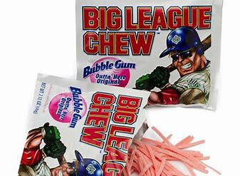 Big Leage Chew peg bag