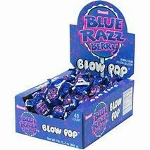 Blow Pop Razzberry