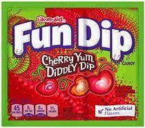 fun dips cherry