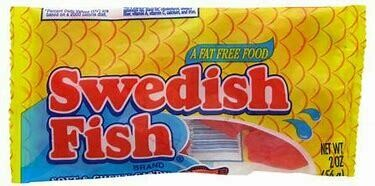 Swedish Fish Bag