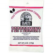 Claeys Peppermint Candy