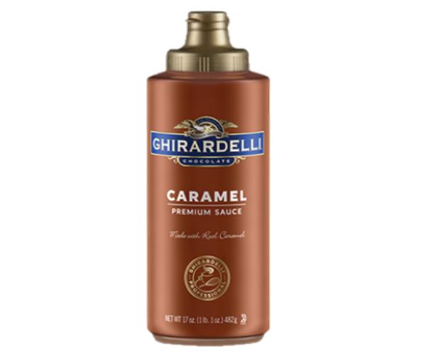 Salsa Caramelo Ghirardelli 16 oz