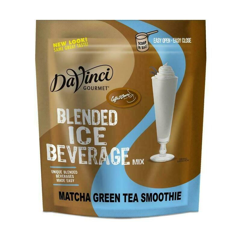 Base para Smoothie Matcha Green Tea DaVinci