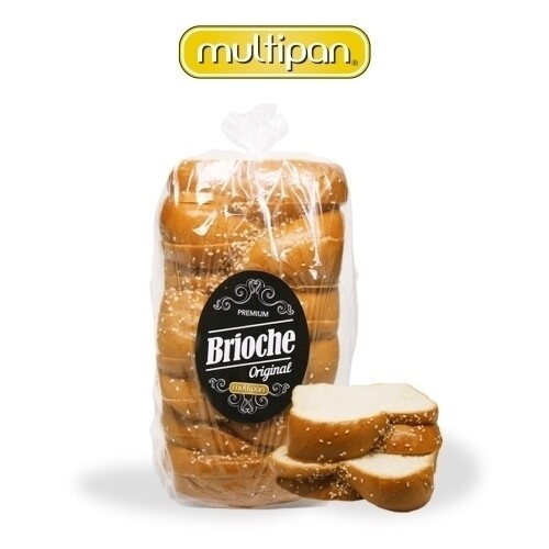 Pan Brioche Brick x 2