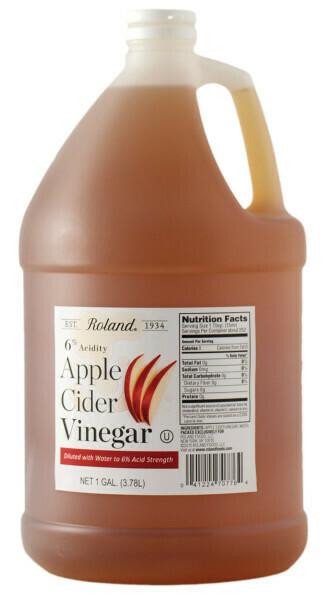 Vinagre de Manzana Cider Roland 1 galón