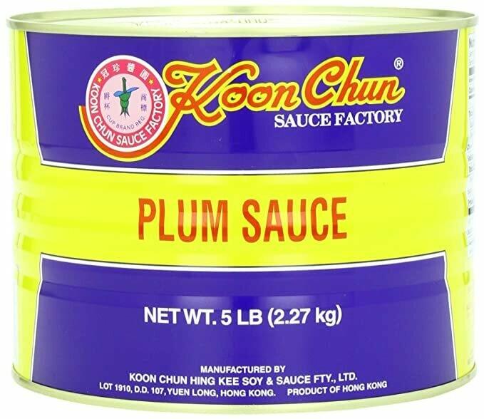 Salsa de Ciruela 5 lb