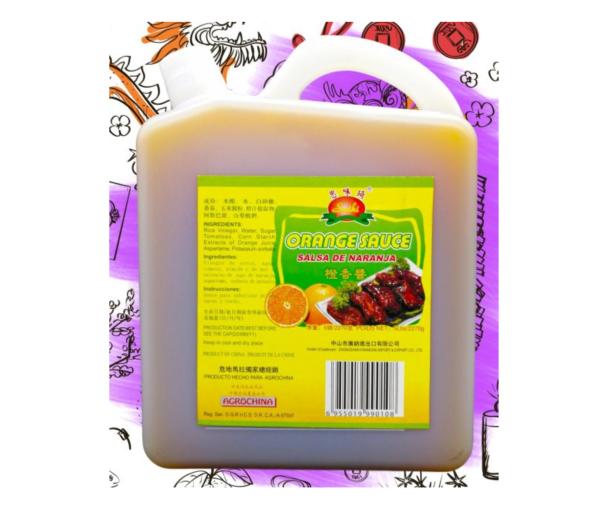 Salsa de Naranja 5lb