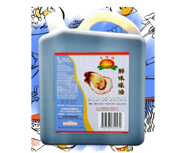 Salsa de Ostras Premium 5lb