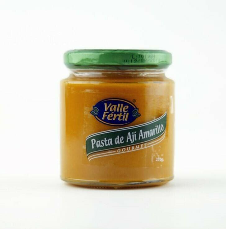 Pasta Aji Amarillo 8 oz / 4 unidades
