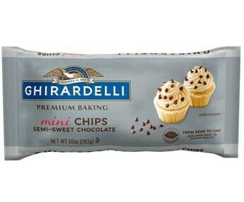 Mini Chispas de Chocolate semi-dulce Ghirardelli / 6 unidades