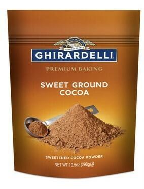 Cocoa Molida Dulce Ghirardelli 10.5 oz/