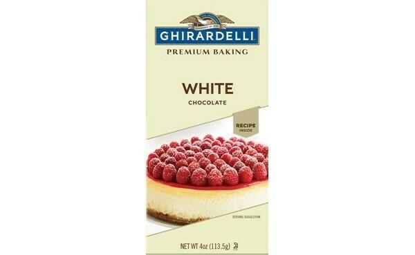 Chococolate Blanco para cocinar Ghirardelli 4 oz/ 6 unidades