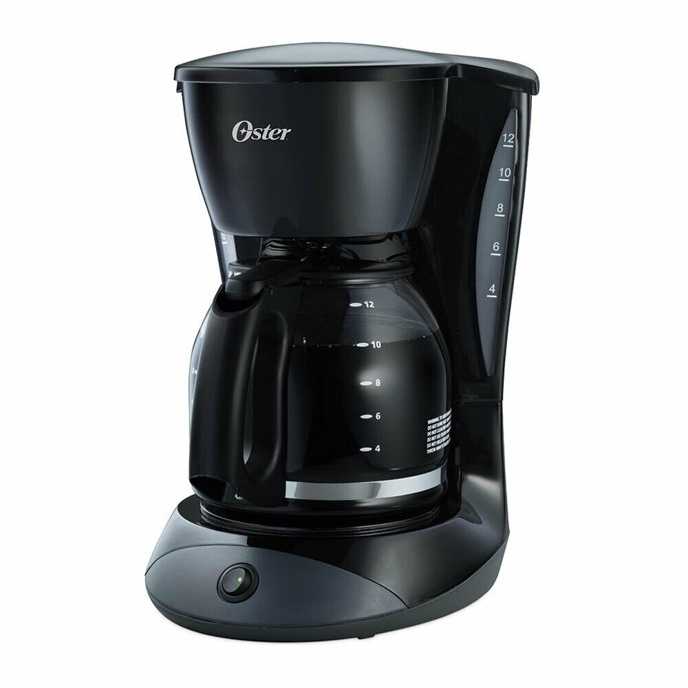 Cafetera 12 tazas con filtro permanente Oster