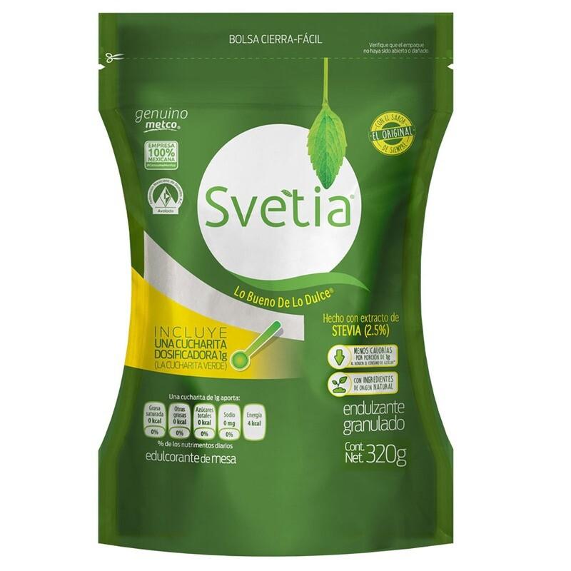 Stevia Granulada Svetia  Doy Pack 320 grms