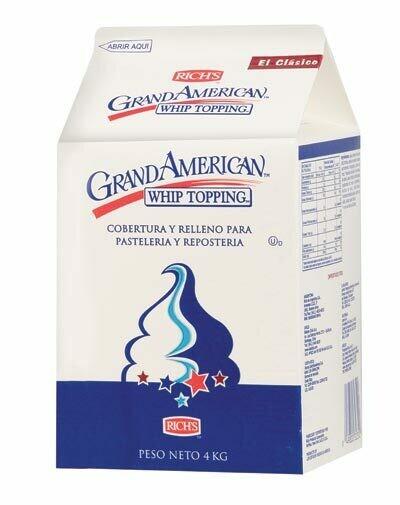 Crema para batir Grand American Premium