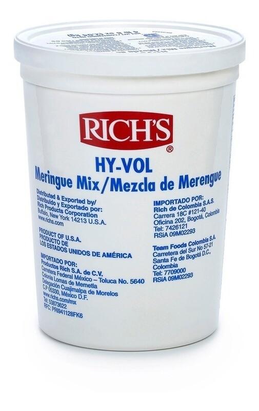 Richs Hy-Vol Merengue 1 galón