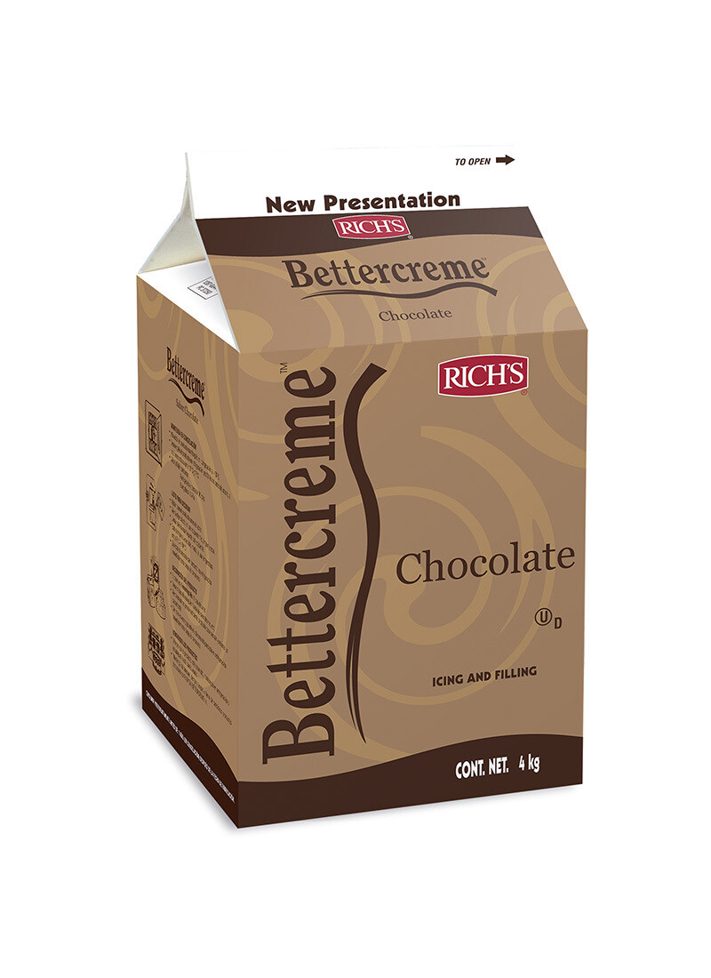 Richs Bettercreme Chocolate 1 galón
