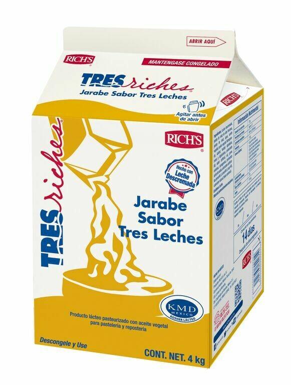 Richs Jarabe tres leches 1 galón