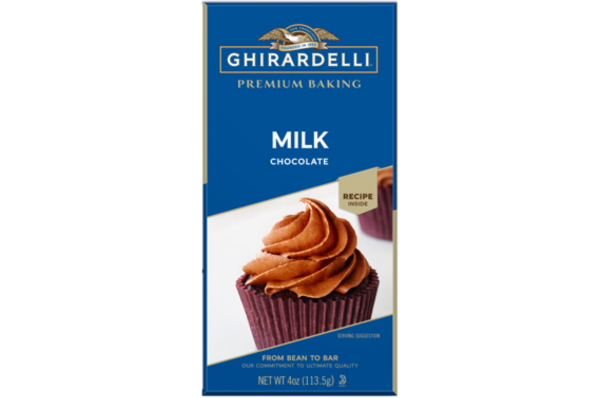 Chocolate con leche para cocinar Ghirardelli 4 oz/ 6 unidades