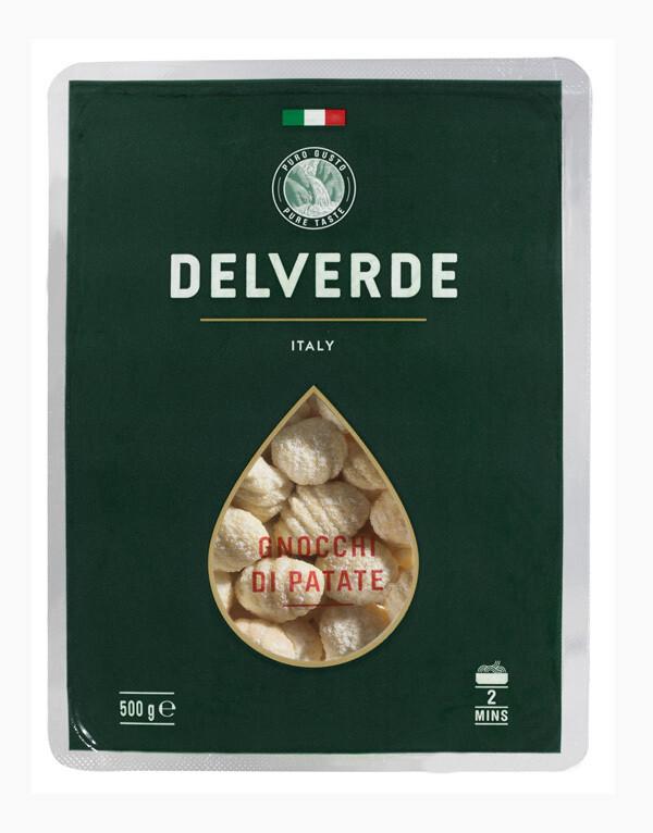 Gnocchi di Patate Delverde 500 grm / 12 unidades