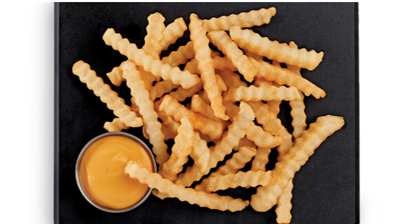 Mc Cain 3/8 Crinkle cut french fries / Caja 6 Bolsas de 5 lb