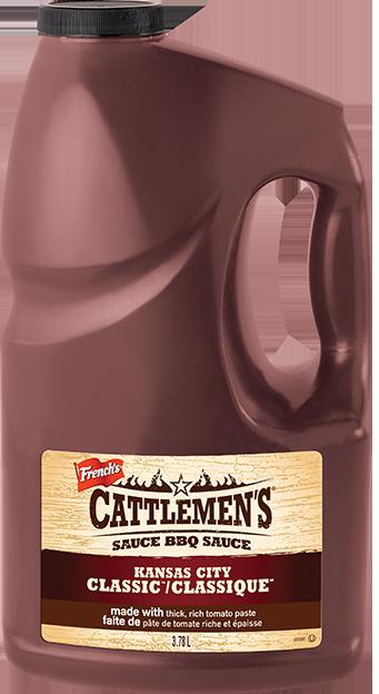 Salsa BBQ Kansas City Orginal Cattleman Galón