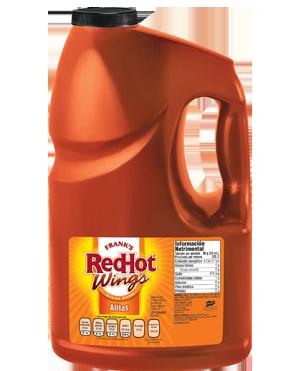Salsa Buffalo para Alitas Red Hot Galón