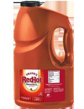 Salsa Red Hot original Galón