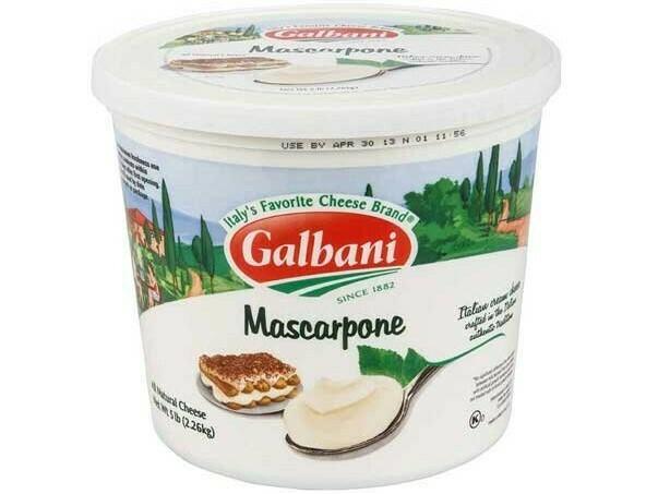 Mascarpone Galbani 5 lbs
