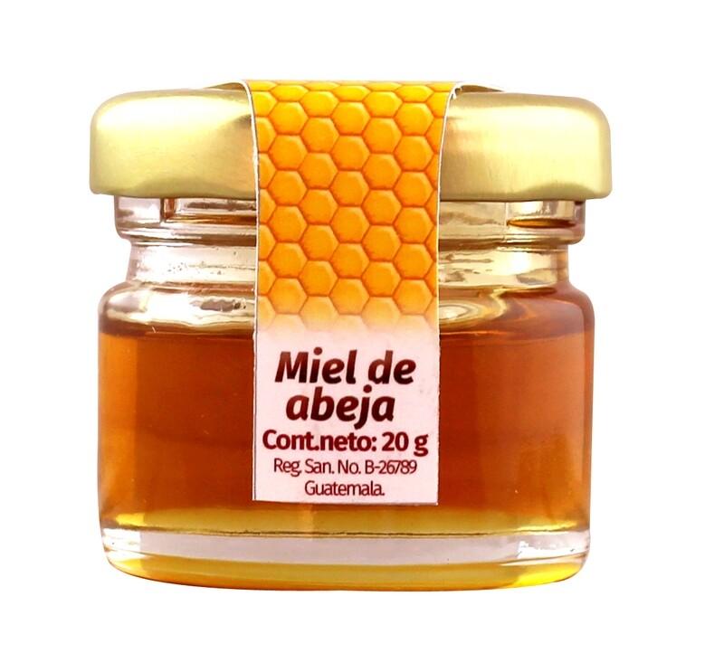 Mini Miel La Condesa 20 grm / 24 unidades